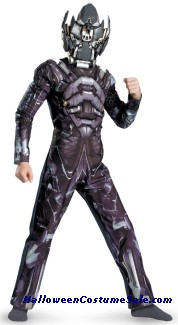 IRON HIDE CLASSIC MUSCLE CHILD COSTUME