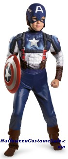 CAPTAIN AMERICA MUSCLE CHILD COSTUME