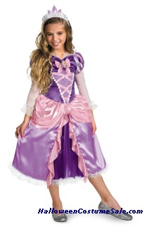 RAPUNZEL TANGLED DELUXE CHILD COSTUME