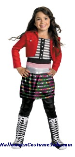 SHAKE IT UP ROCKY DELUXE CHILD COSTUME