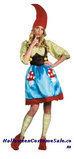 MS. GNOME ADULT PLUS SIZE COSTUME