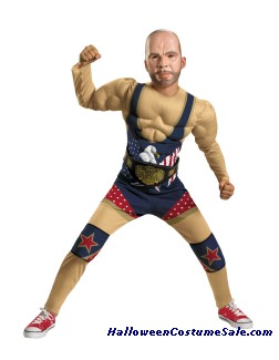 KURT ANGLE CLASSIC MUSCLE CHILD COSTUME