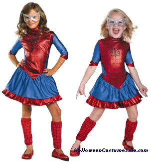 SPIDERGIRL DELUXE CHILD/TODDLER COSTUME
