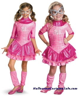 SPIDERGIRL PINK DELUXE CHILD/TODDLER COSTUME