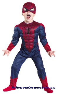 SPIDER-MAN MOVIE CHILD/TODDLER MUSCLE COSTUME