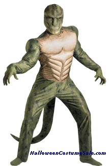 LIZARD CLASSIC MUSCLE PLUS SIZE ADULT COSTUME