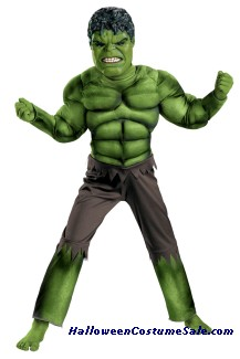HULK AVENGERS CLASSIC MUSCLE CHILD/TODDLER COSTUME