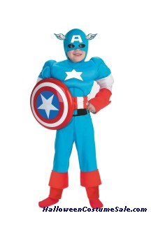 CAPTAIN OF AMERICA CHILD COSTUME