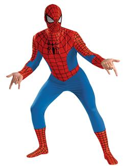 SPIDER-MAN DELUXE PLUS SIZE ADULT COSTUME