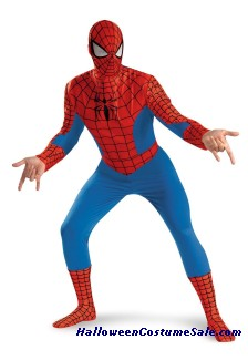 SPIDERMAN DELUXE ADULT COSTUME