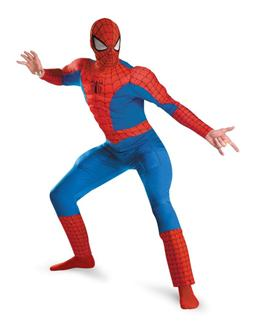 SPIDER-MAN DELUXE MUSCLE PLUS SIZE ADULT COSTUME