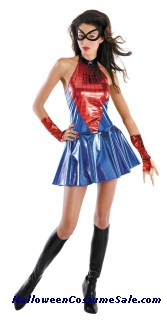 SPIDER GIRL DELUXE ADULT COSTUME