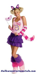 THE CHESHIRE CAT ADULT COSTUME - MEOW!