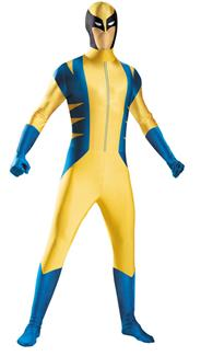 WOLVERINE BODYSUIT CHILD/TEEN COSTUME
