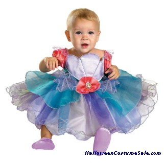 ARIEL INFANT COSTUME - VERY CUTE!