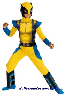 WOLVERINE ORIGINS CHILD COSTUME
