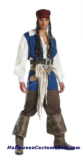 Disney Adult Jack Sparrow Quality Costume