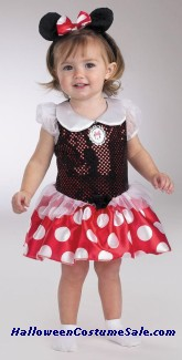 BABY MINNIE 12-18 MONTHS COSTUME