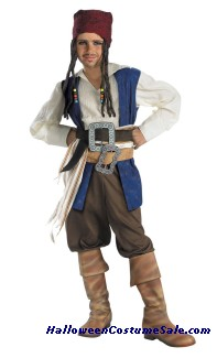 QUALITY DISNEY JACK SPARROW CHILD COSTUME