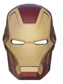 IRON MAN MARK 42 VACUFORM MASK