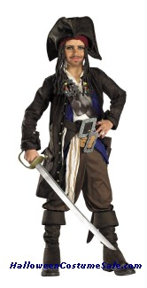 PIRATES OF CARRIBEAN CAPTAIN CHILD COSTUME