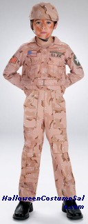GI JOE DESERT SOLDIER COSTUME