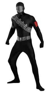 SNAKE EYES BODYSUIT PLUS SIZE ADULT COSTUME