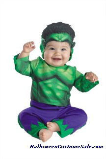 HULK BABY INFANT COSTUME