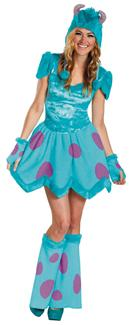 SASSY SULLEY ADULT COSTUME