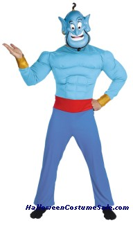 GENIE MUSCLE CHEST ADULT COSTUME