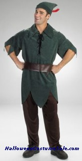 QUALITY DISNEY PETER PAN ADULT COSTUME