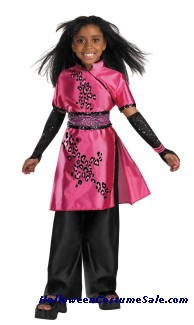 DELUXE DISNEY CHEETAH GIRL GALLERIA CHILD COSTUME