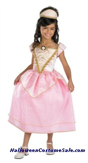 Child Barbie Party Princess Deluxe Costume