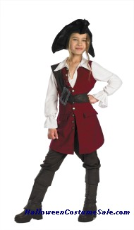 DELUXE DISNEY PIRATE ELIZABETH CHILD COSTUME