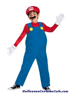 MARIO BROTHERS DELUXE BOYS CHILD COSTUME