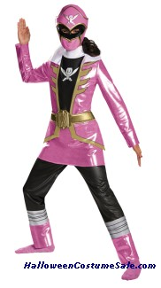 PINK RANGER DELUXE CHILD COSTUME