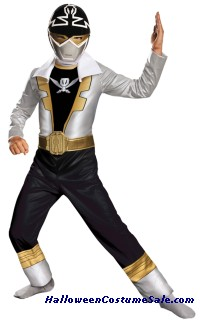 SPECIAL SILVER RANGER CHILD COSTUME