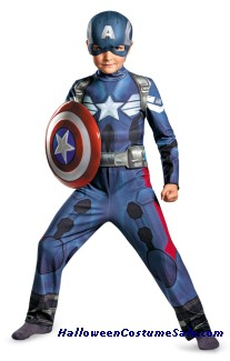 CAPTAIN AMERICA MOVIE 2 CHILD COSTUME