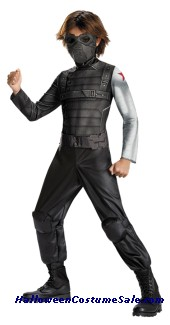 WINTER SOLDIER CLASSIC CHILD COSTUME