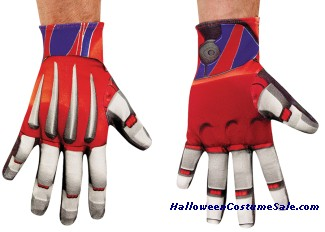 OPTIMUS PRIME ADULT GLOVES