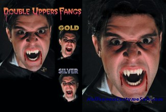 FANGS, UPPER DOUBLE IN COFFIN