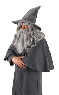 GANDALF WIG AND BEARD ADULT