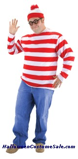 WHERES WALDO PLUS SIZE COSTUME