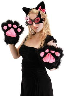 KITTY PAWS BLACK
