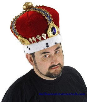 ROYAL KING CROWN - ADULT SIZE