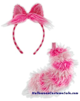 CHESIRE CAT EAR & TAIL SET