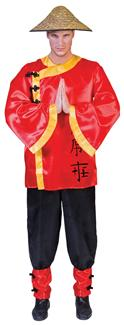 DYNASTY MAN PLUS SIZE ADULT COSTUME
