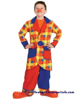 CLUBBERS THE CLOWN CHILD COSTUME