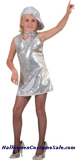 DISCO DRESS CHILD COSTUME