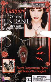 COFFIN PENDANT